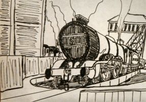 Ness on The Turntable by Rockyrailroad578