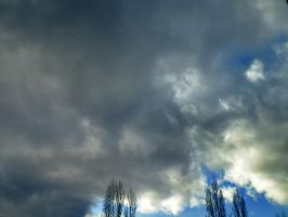contrast clouds by spidergypsy