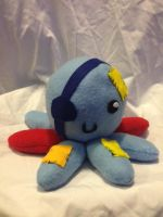 Clementine's Octopus plush by Psyche-The-Rabbit