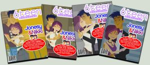 6TEEN MAGAZINE sample cover 6 by daanton