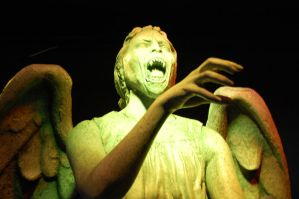 Weeping Angel 1000 page views by The-Rover