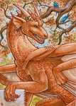 ACEO for DragonLady by Dragarta