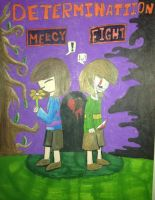 Fight or Mercy  by Unibanana