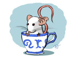 A cup of rat by Curroide