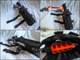 NERF Roughcut Drop Leg Thigh Holster by MarcWF