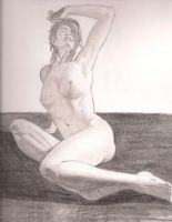 Nude Woman by Immortalchaos1
