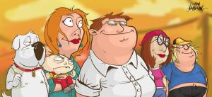 Artrix's take on Family Guy by TheArtrix