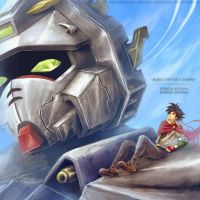 Gundam Fighter by Landylachs