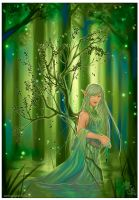 The Elven Light by Qinni