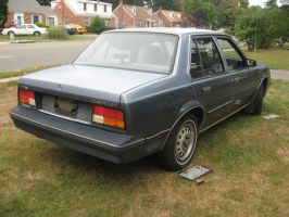 1984 Chevy Cavalier 3/4 rear view by Reyphotos