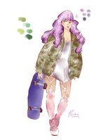 Camo Jacket by nosewhirly