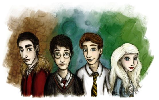 The Four Champions by selinaann