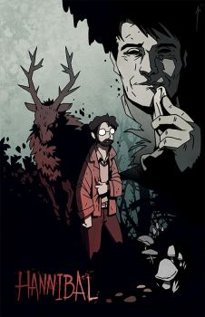 Hannibal Comic Cover by JoannaJohnen