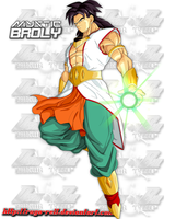 Mystic Broly - Concept Art for Honor Trip's Future by AmericanVigor