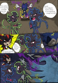 Coloured!Sonic PSG Style sketch comic pg 1 by Auroblaze