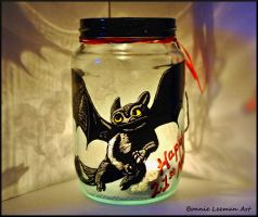 How To Train Your Dragon Jar by Bonniemarie