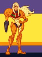 Samus by pai-draws