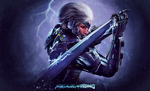 MGR:R - Raiden - Fan Art by Draconica98