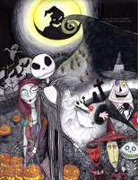 The Nightmare Before Christmas by Amora-Delara