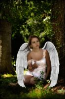 Earthbound Angel by nikongriffin