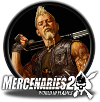 Mercenaries 2 Button by GAMEKRIBzombie