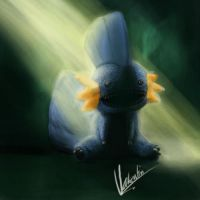 pokimahns: mudkip. because: why not? by ArtPsychosis