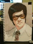 Estudio Bruce Lee by padraven