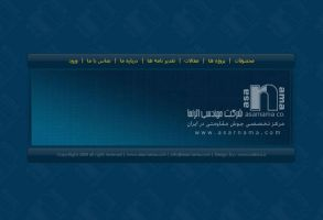 web interface home page by mabdesigner