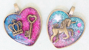 Metal Charms by paper-pastels