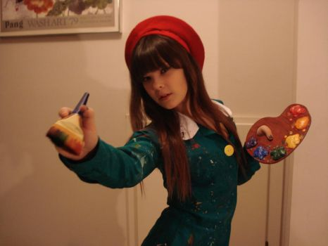 Adeleine the Painter Girl by KBWcosplay