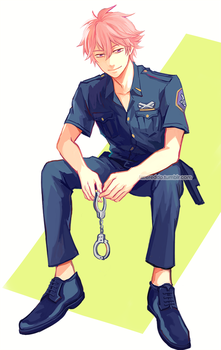 officer kisumi by reddii