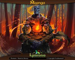 Moonga - Carniath Creator of Fire by moonga