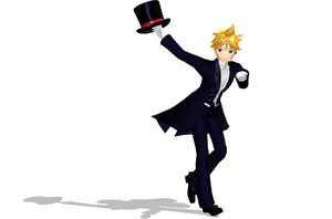 MMD Newcomer - Formal Len by Crystallyna