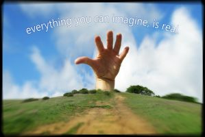 Everything You Can Imagine, Is Real! by perkylips