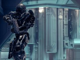 Halo 4: Stepping Up by PurpleGhost204