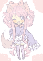 (SOLD) 2$ Chibi Adoptable ~ by maributt