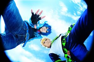 Cosplay:DRAMAtical Murder Aoba by bittys