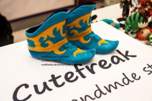 Arcane boots home slippers from Dota 2 game. by cutefreakz