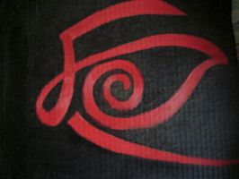 The Eye Of The Crimson King by peace-love-art