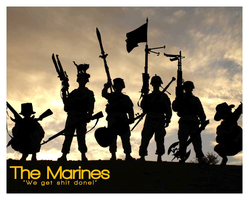 The Marines by The-Dancing-Bastard