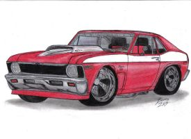 1969 Chevy Nova RSR Edition by Mister-Lou