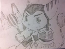 My First Ratchet and Clank Pic! by Delasea