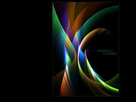 Rainbow Flowers - WP - No.3 by denise-g