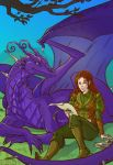 Commission 48 - Muireen and Glennore by LadyDeddelit