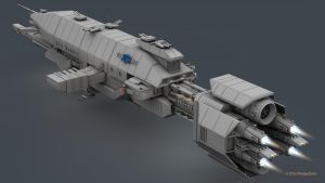 B5 Warlock Destroyer WIP 16 by 2753Productions