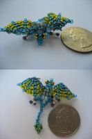Bead Dragon I by kameeko