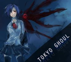 Tokyo ghoul by noDuckiEallow