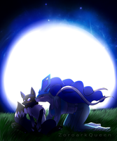 COM~2/2Moonlit Kiss by QueenOfIllusion