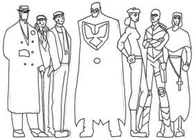 A Parlement of Crimefighters by dan-sch