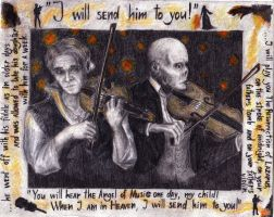 The fiddler and the violinist by Sunny20K